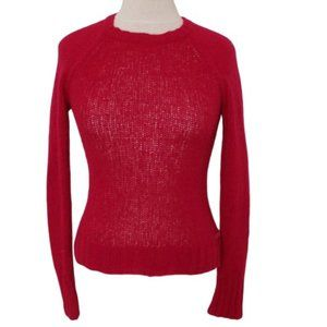 *3 For $25* American Eagle Sheer Red Sweater- XS